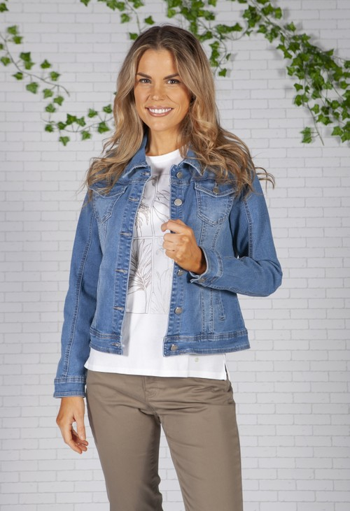 Pamela Scott Western Style Denim Jacket