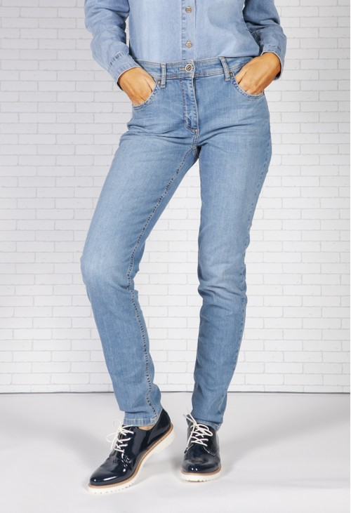 Betty Barclay 5 Pocket Jean Blue Denim