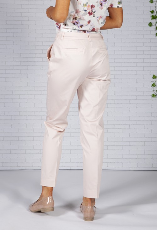 Betty Barclay Light Pink Tailored Trousers