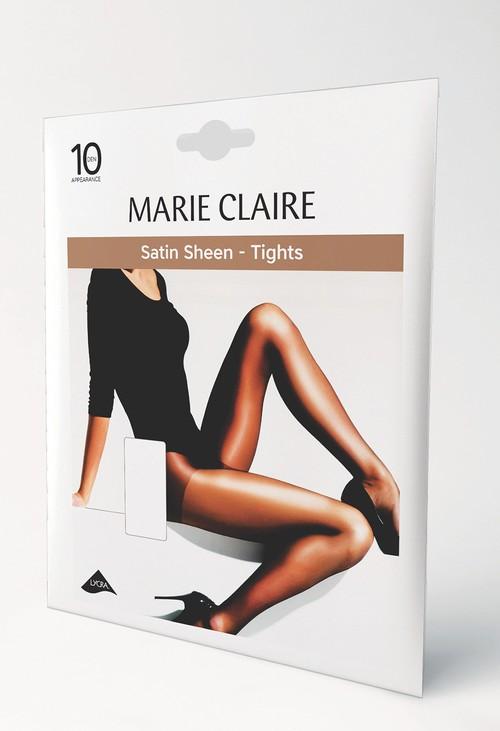 Marie Claire 10 Den Satin Sheen Barely Black