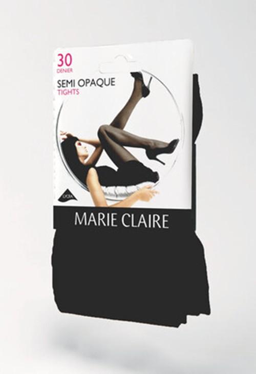 Marie Claire Black 30 Den Semi Opaque Tights