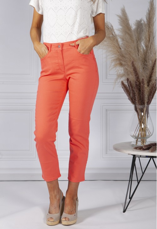 Bianca 5 Pocket Jeans in Melon