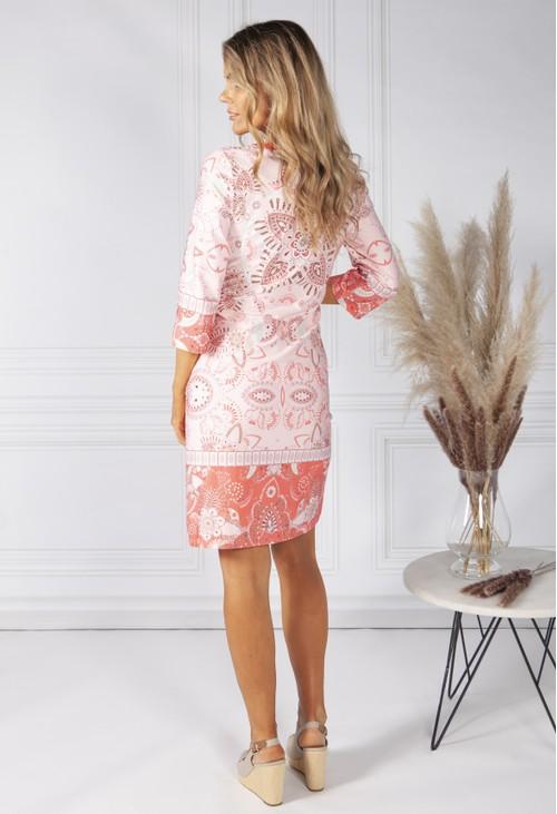 Bianca Kaleidoscope Print Dress