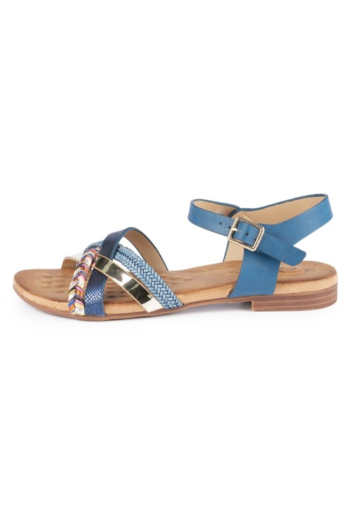 Lunar Louisa Multi Cross Strap Sandal