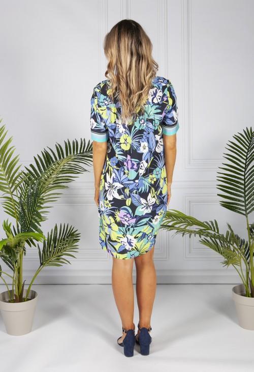Betty Barclay Tropical Flower Print Dress