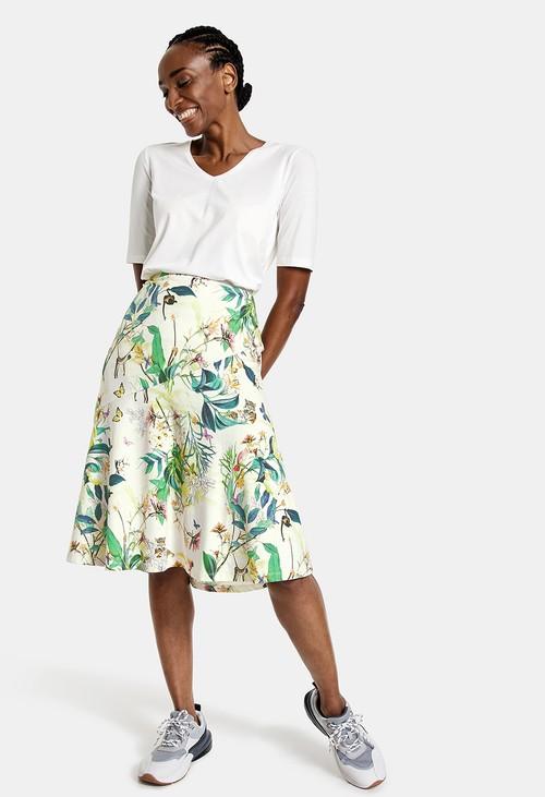 Gerry Weber Skirt in a tropical design