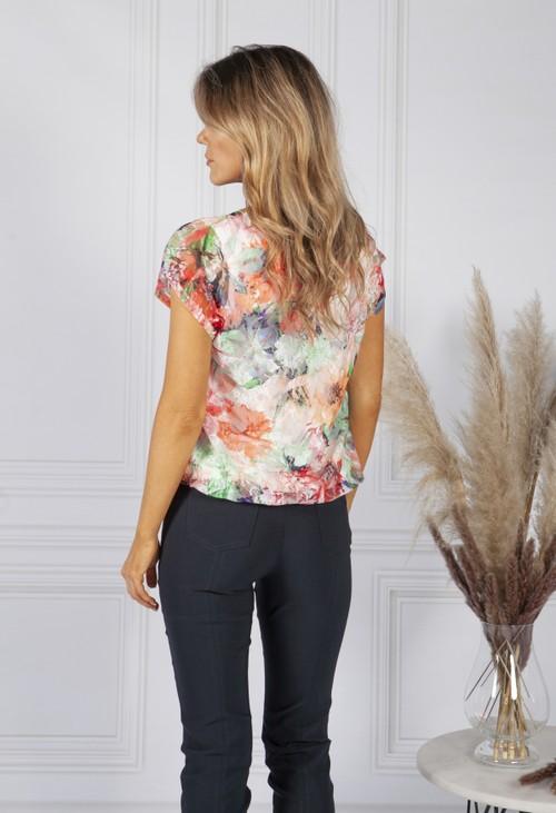 Sophie B Floral Print Top
