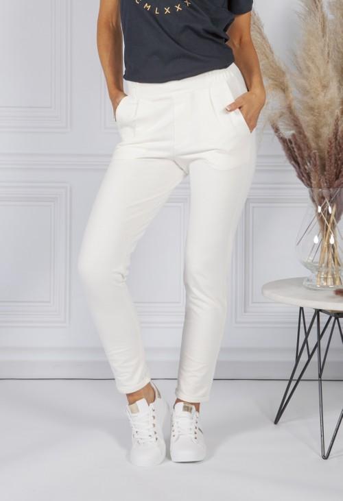 Sophie B Off-White Jog Pants