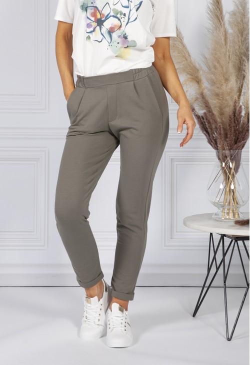 Sophie B *Pre-Order* Khaki Jog Pants