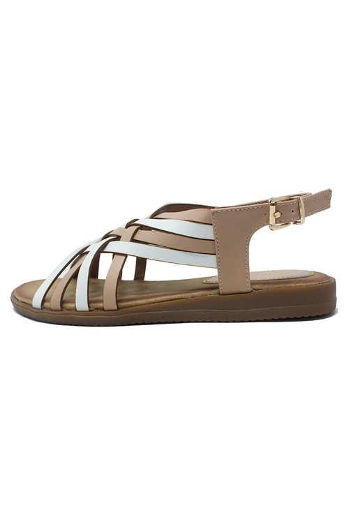Shoe Lounge Beige Sling Back Sandal
