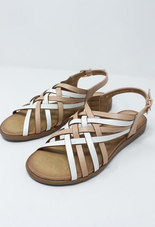 Shoe Lounge Beige Sling Back Sandal