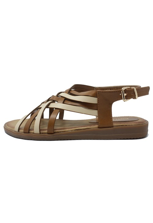 Shoe Lounge Tan Sling Back Sandal