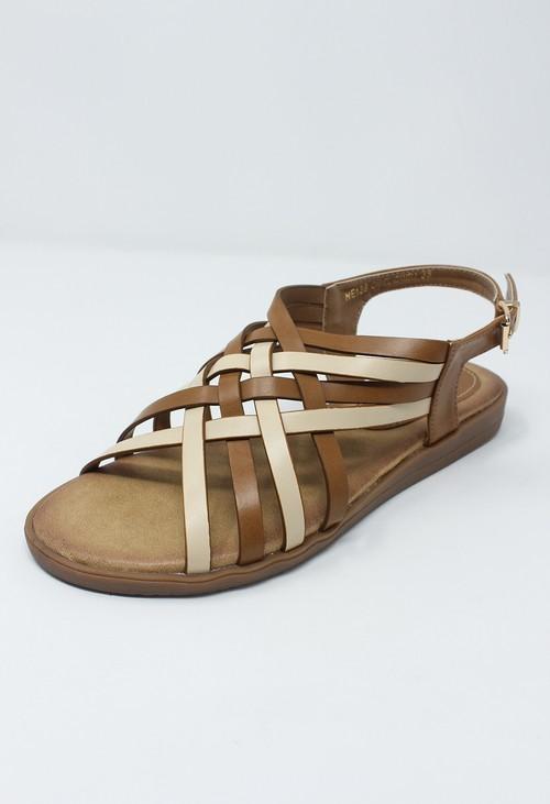 Shoe Lounge Tan Sling Back Sandal