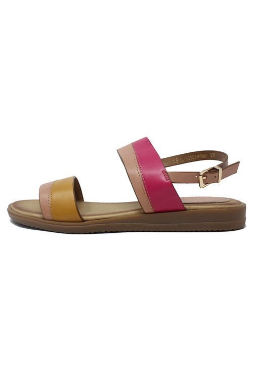 Shoe Lounge Rose Flat Sling-back Sandal