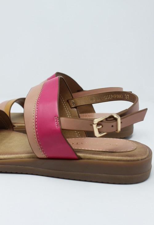 Shoe Lounge Rose Flat Sling-back Sandal