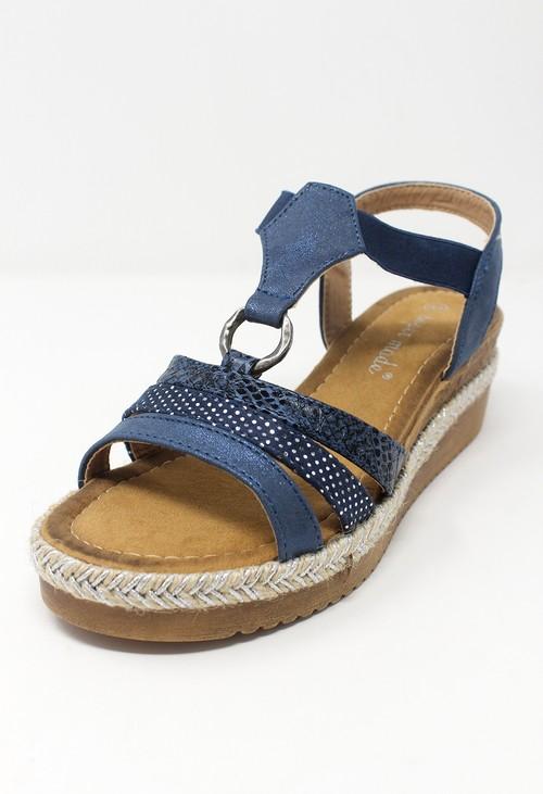 Shoe Lounge Blue Ring Sandal