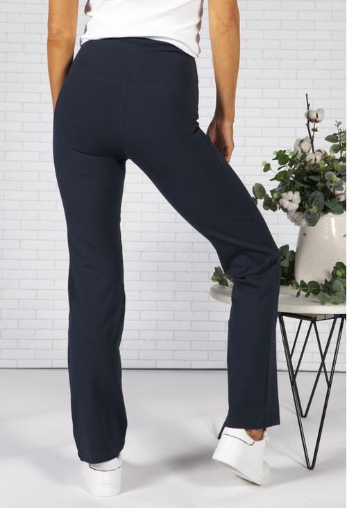 Pamela Femme Navy Slim Fit Trousers