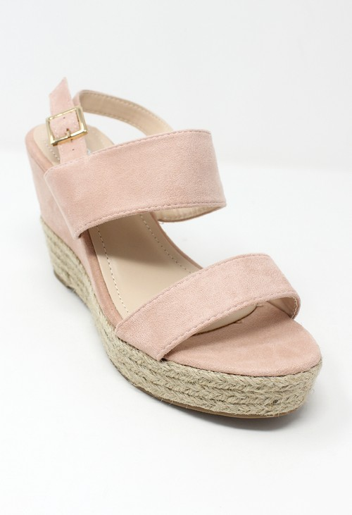 Shoe Lounge Pink Soft Toe Strap Sandal