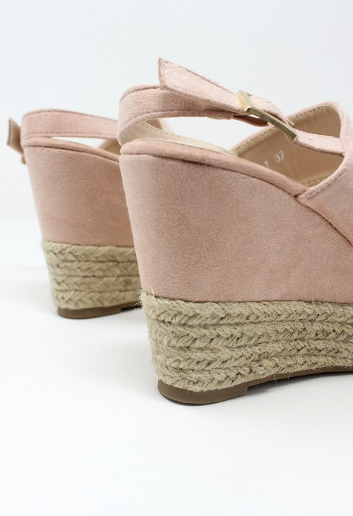 Shoe Lounge Pink Soft Toe Strap Sandal