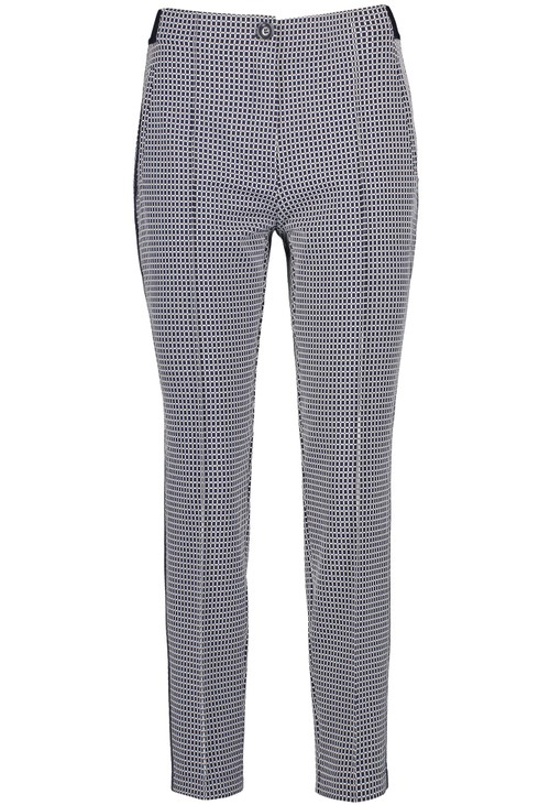 Gerry Weber Trousers with a mini check pattern