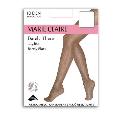 Marie Claire Invisible Barely Black