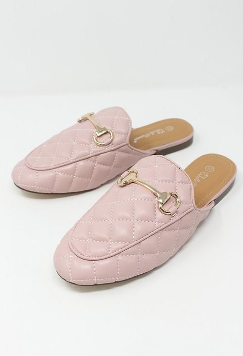 Shoe Lounge Pink Apron Front Slide