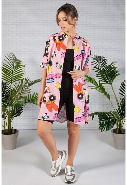Pamela Scott Pink Power Puff Girls Shirt