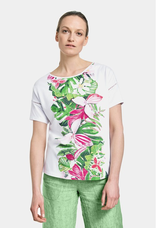 Gerry Weber Top with floral print