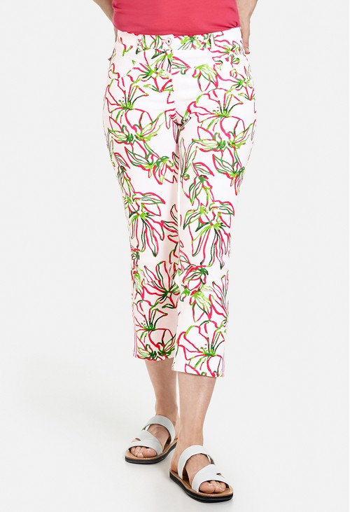 Gerry Weber Jeans with a floral print