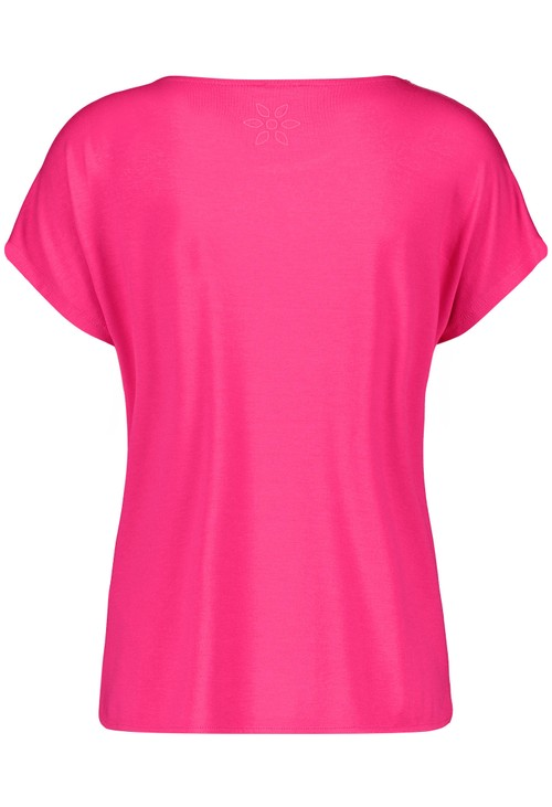 Gerry Weber Pink Top with broderie Anglaise
