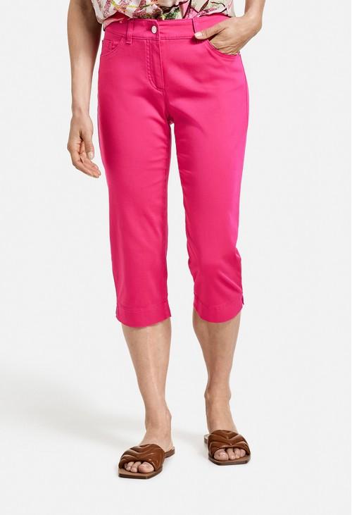 Gerry Weber Best4Me Capri Trousers in Pink