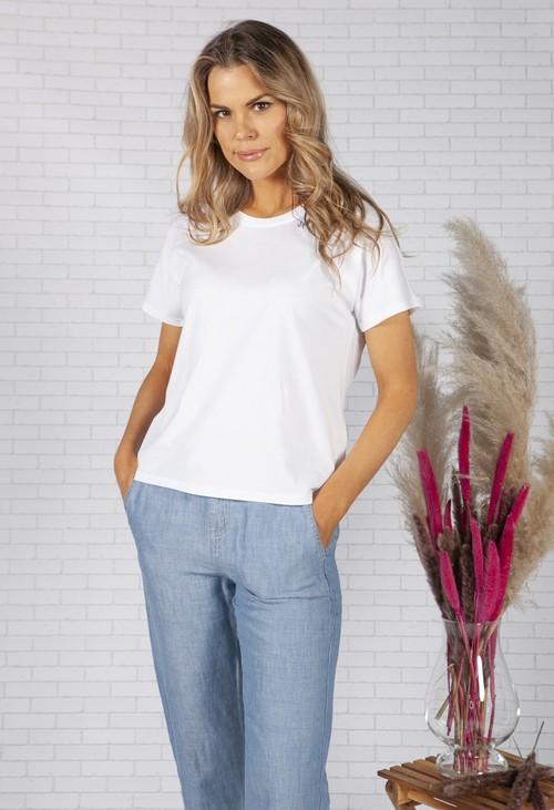 Opus White Sembro Shirt