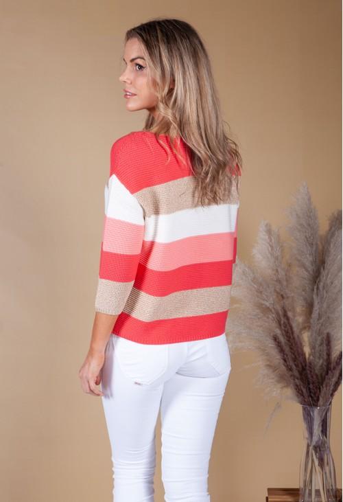 Betty Barclay Stripe Short Sweater