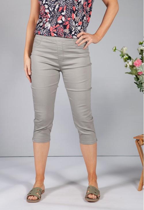 Twist Khaki Pull on Jeans