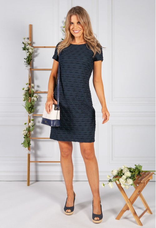 Betty Barclay Navy Jersey Dress