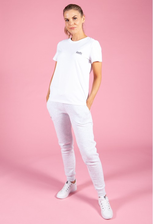 Superdry Optic White Logo T-Shirt