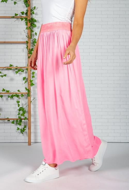 Zapara Miami Pink Maxi Skirt