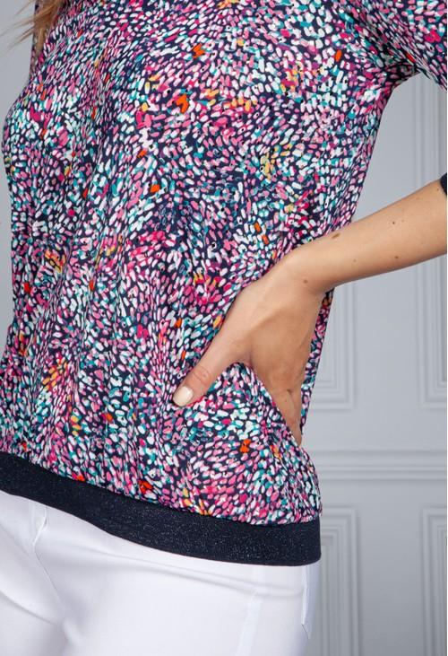Sophie B Multicolour V Neck Top