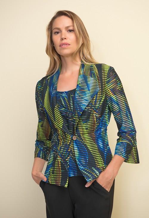 Joseph Ribkoff Multi-colour Print Jacket