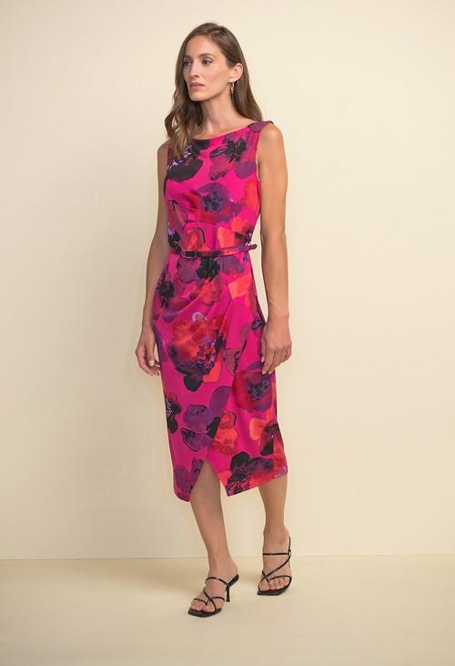 Joseph Ribkoff Floral Sheath Dress