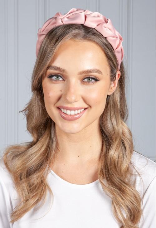 PS Accessories Rose Ruffle Headband