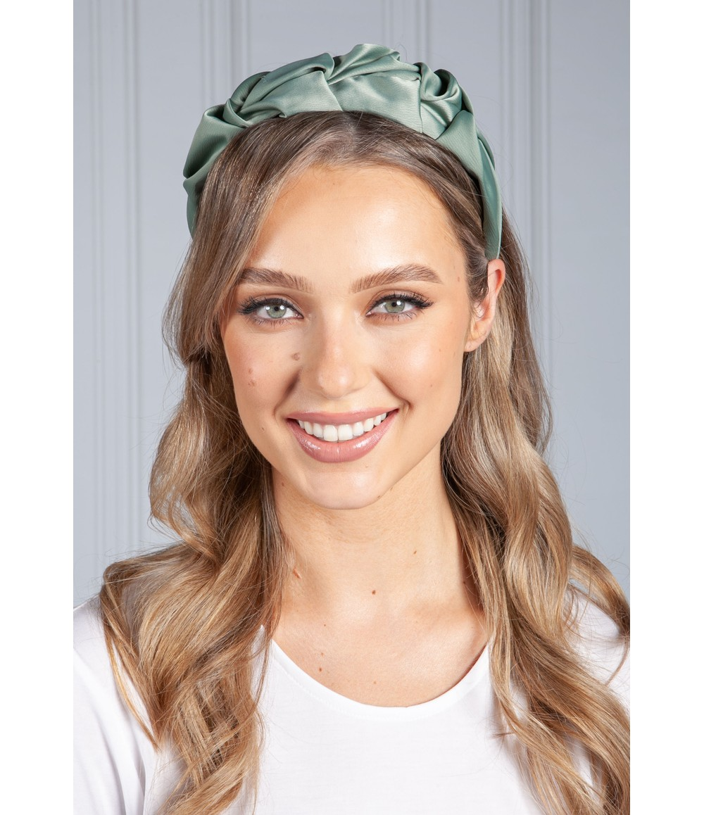 PS Accessories Sage Ruffle Headband