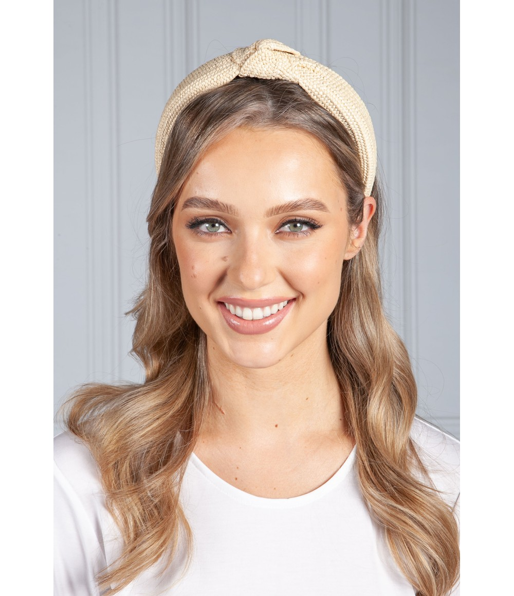 PS Accessories Light Wicker Headband