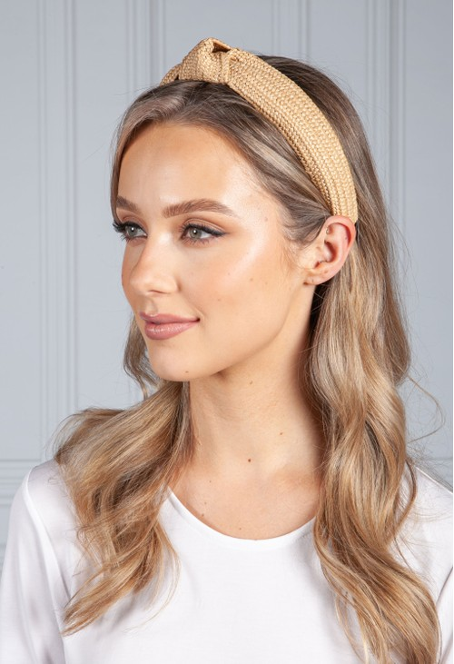 PS Accessories Deep Wicker Headband