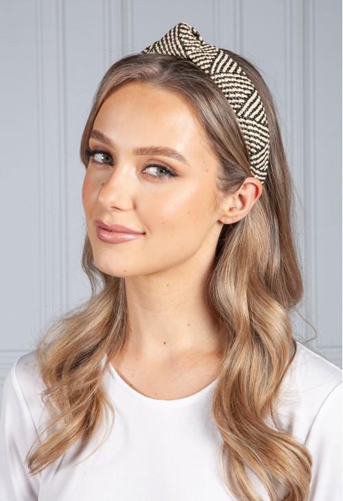 PS Accessories Mixed Wicker Headband