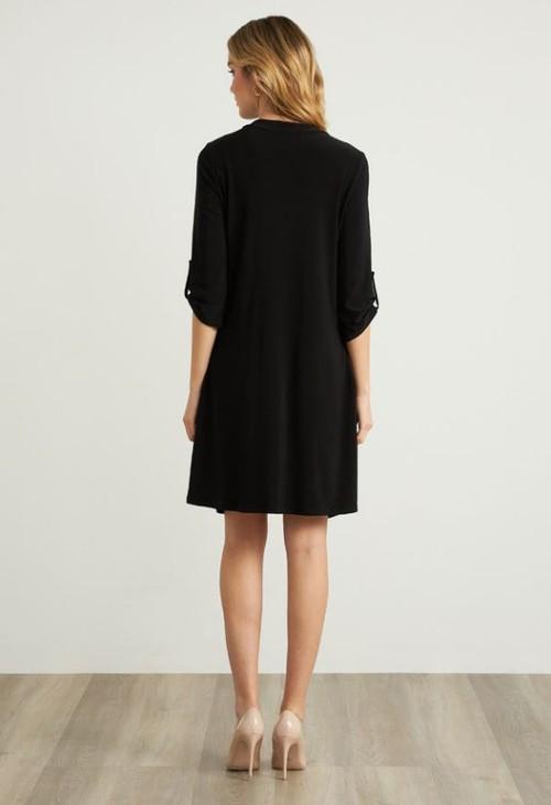 Joseph Ribkoff Zip Front Dress