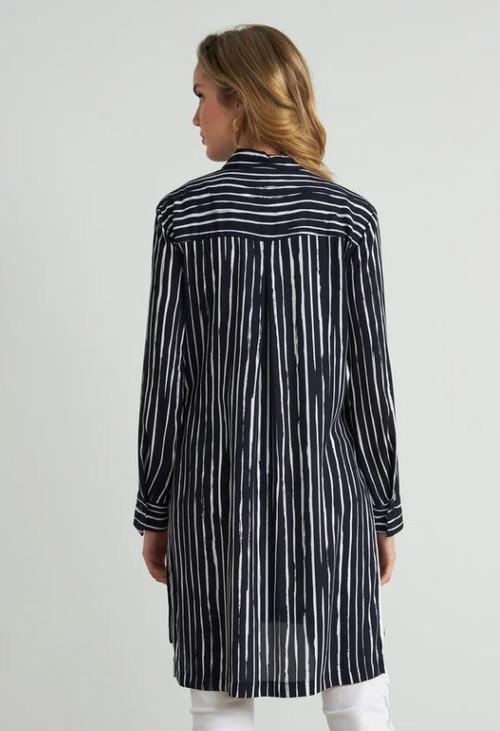Joseph Ribkoff Striped Tunic