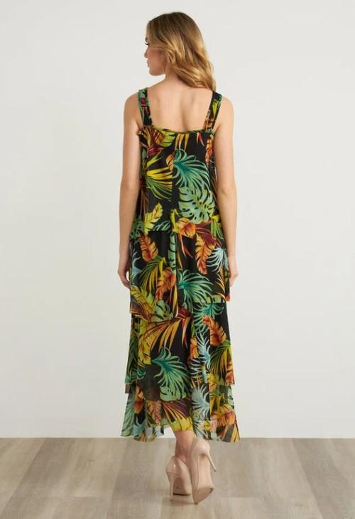 Joseph Ribkoff Tropical Maxi Dress