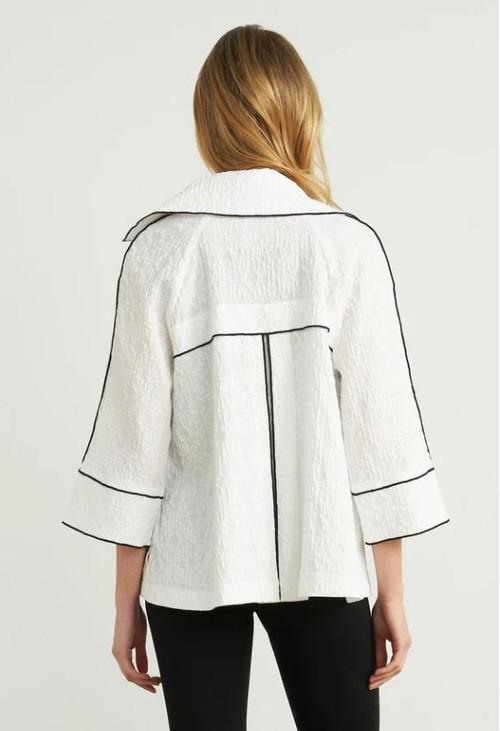 Joseph Ribkoff Contrast Trim Jacket