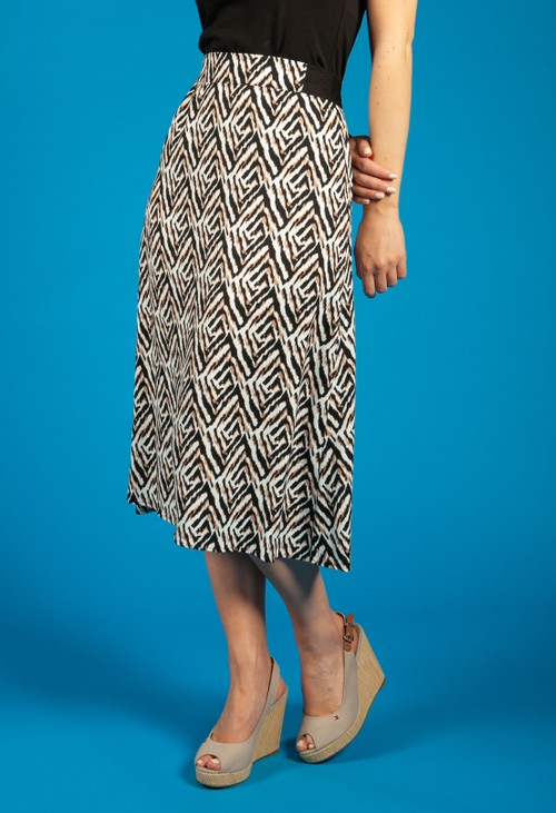Gerry Weber Animal Print Skirt